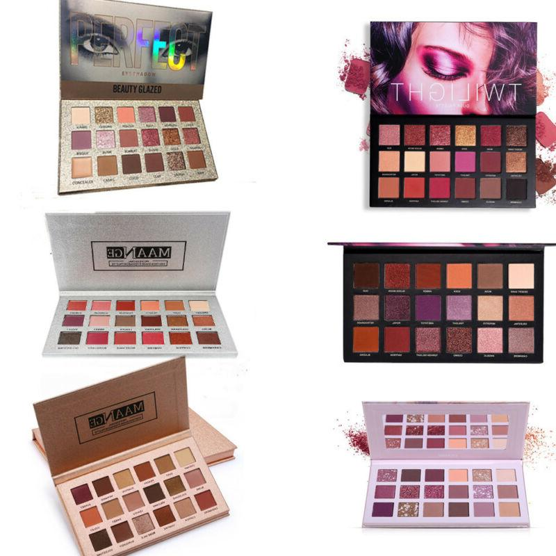 6 pc 18 color eyeshadow palette beauty