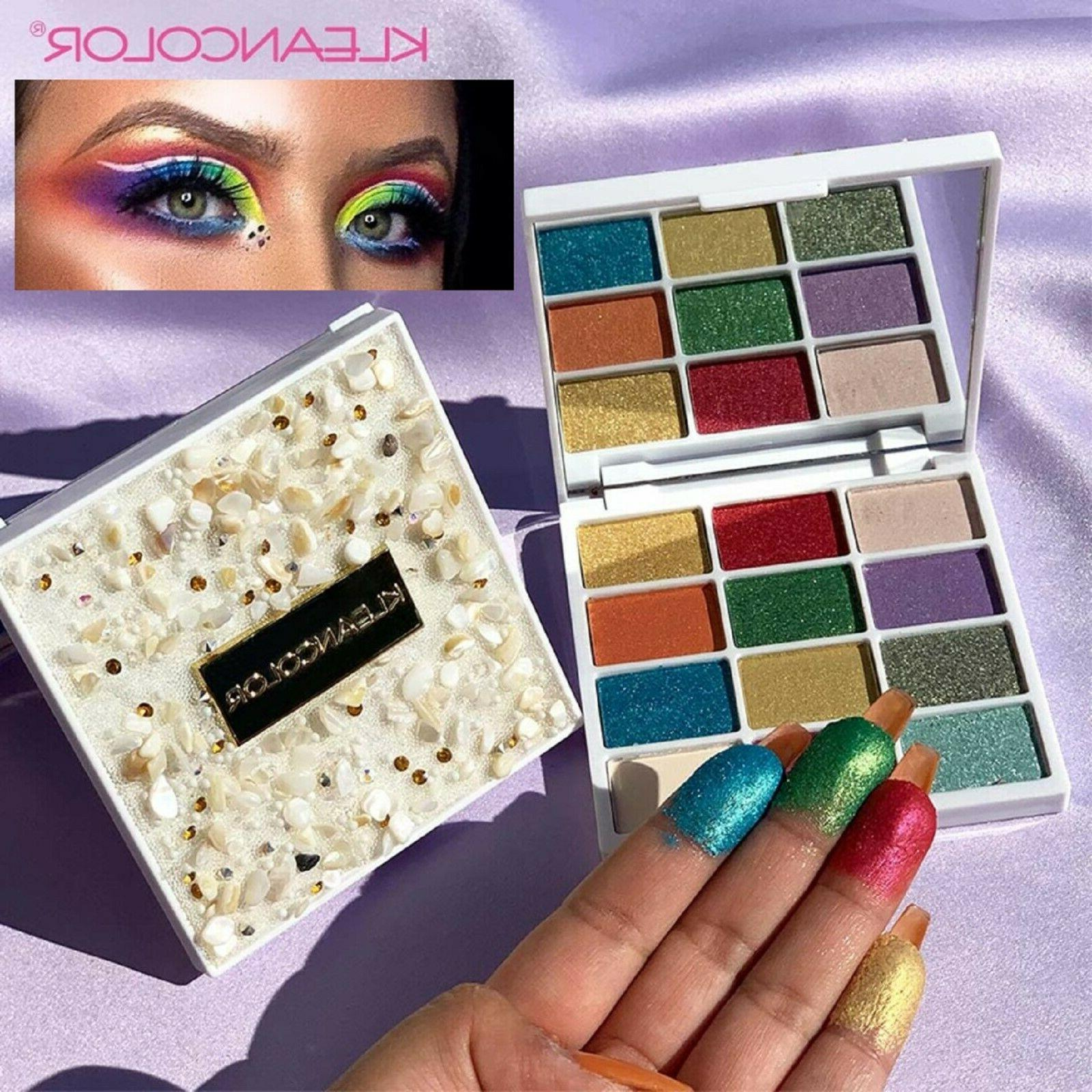 72 colors eyeshadow palette matte shimmer 3d