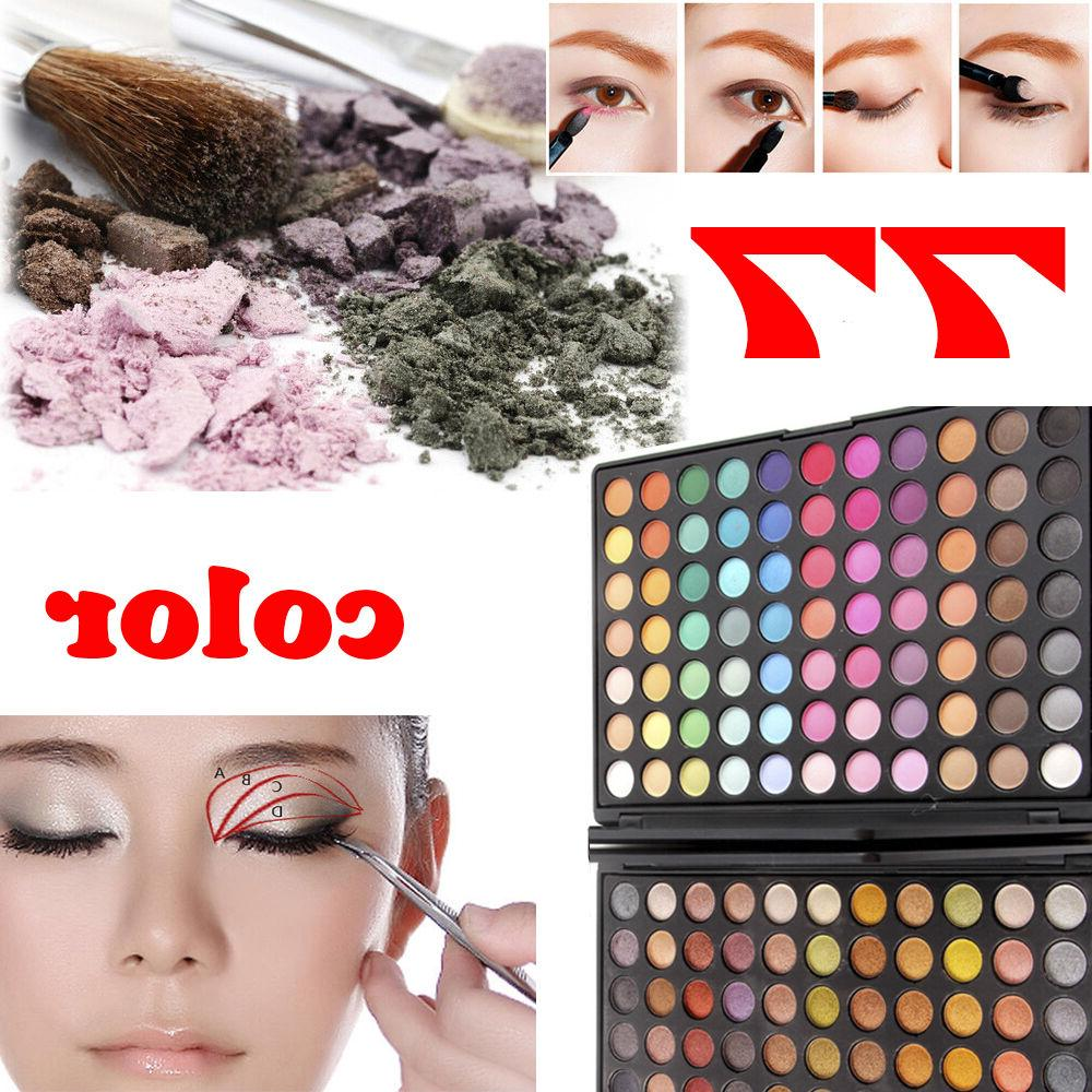 77 colors matte proffesional eyeshadow palette makeup