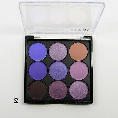 9 color eye shadow palette purple new