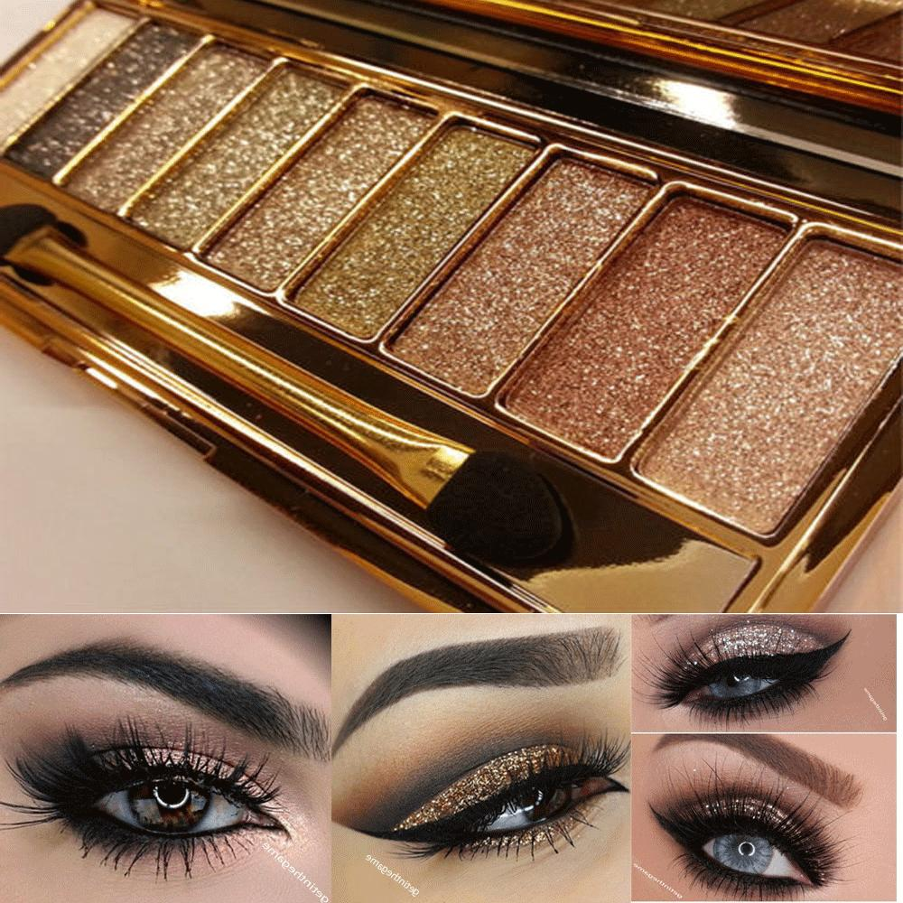 9 Colors Glitter Eye Palette & Makeup Cosmetic NEW