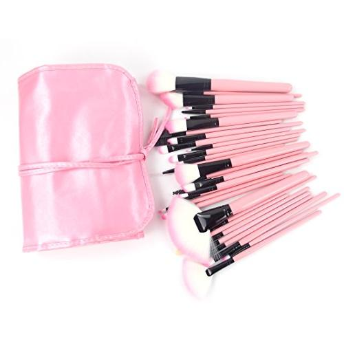 Echo Beauty Gift for Valentine's Day 32 Pcs Pink Rod Makeup