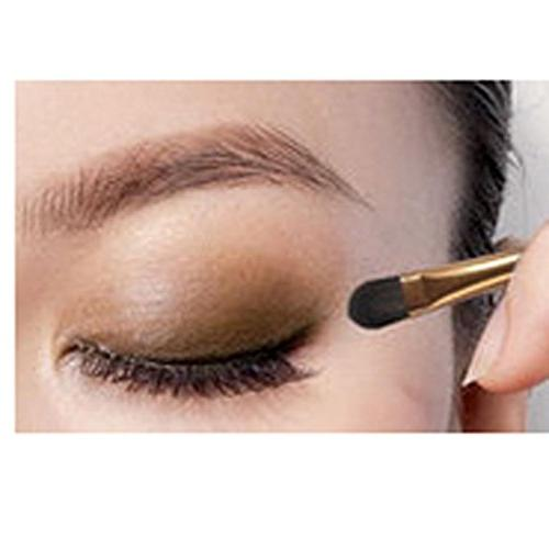 HP95 9 Colors Shimmer Eyeshadow & Cosmetic Brush
