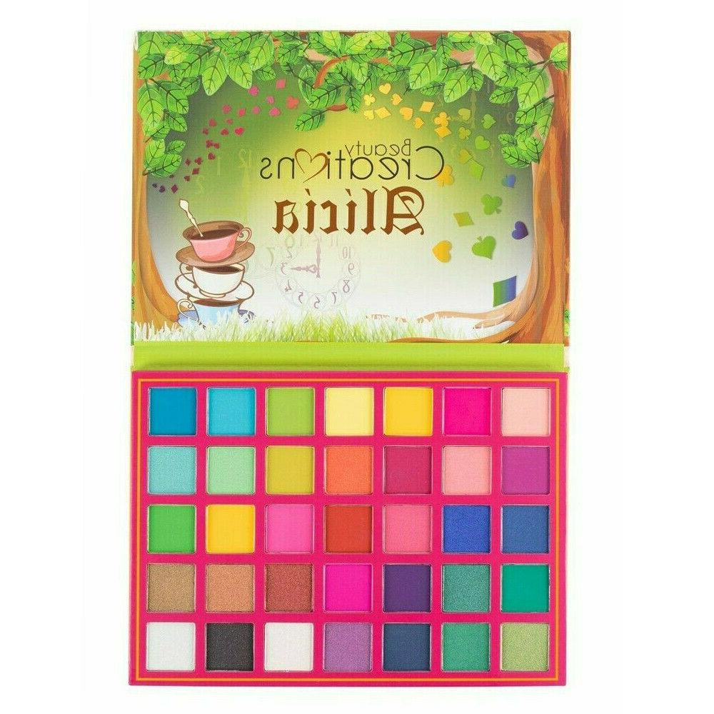 Alicia 35 Palette Pigmented Makeup Gift