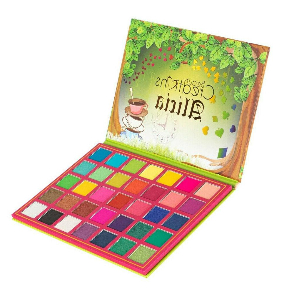 alicia 35 color eyeshadow palette highly pigmented