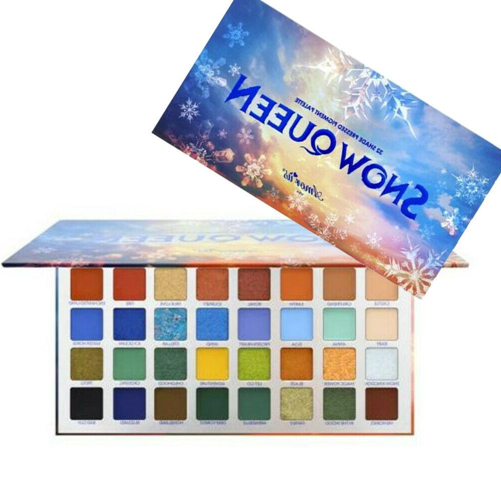Palette 32 Highly Pigmented Colors Frozen Themed