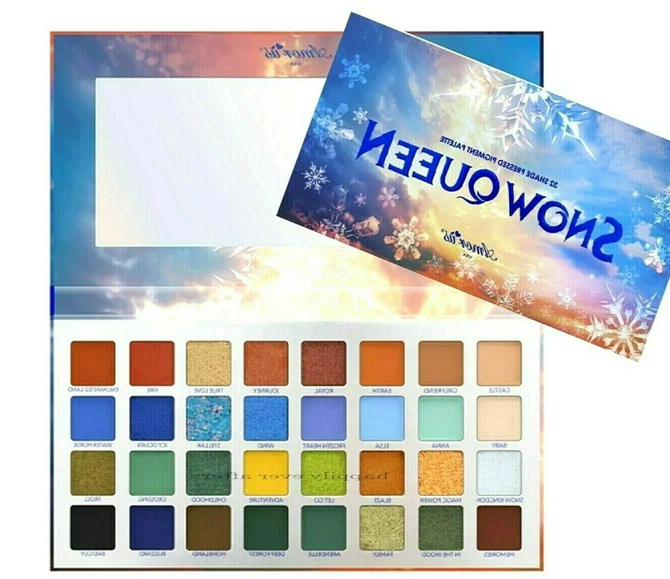 Amorus Eyeshadow Palette Highly Pigmented