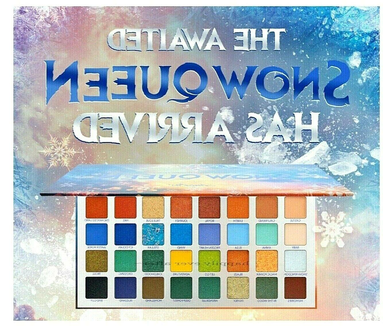 amorus snow queen eyeshadow palette 32 highly