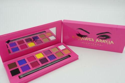 ANASTASIA Alyssa Edwards Eyeshadow Palette 100% AUTHENTIC Ne