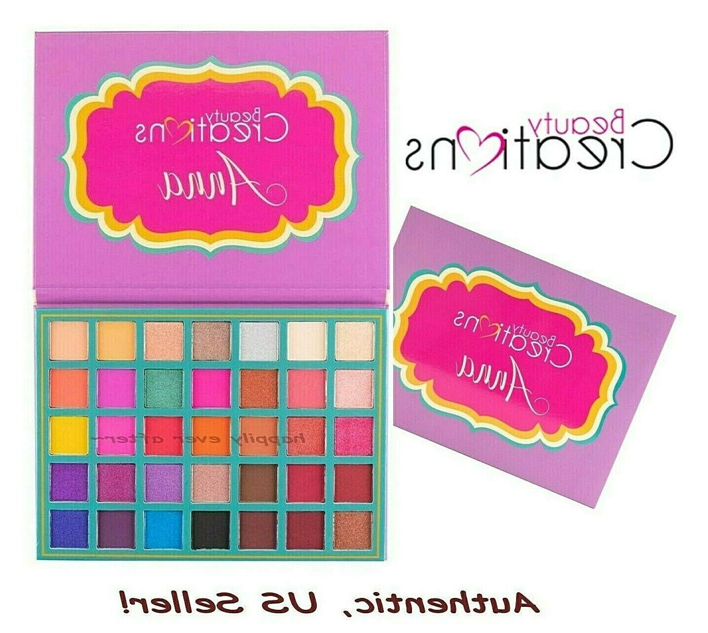 anna eyeshadow 35 color pro palette highly