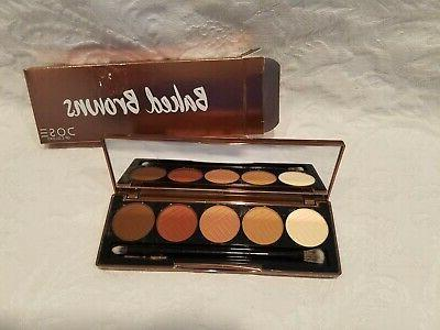 baked browns 5 color eyeshadow palette 0