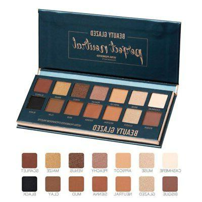 beauty glazed 14 color makeup pallete eye