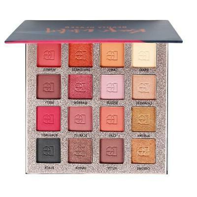 Beauty 16 Colors Natural Matte Pearlescent