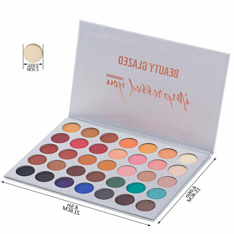 Beauty Eyeshadow Palette Makeup Brushes Limited Edition Waterproof