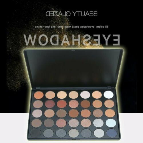 Beauty Glazed Morphe Pro 35 Eyeshadow Palette USA Shipping