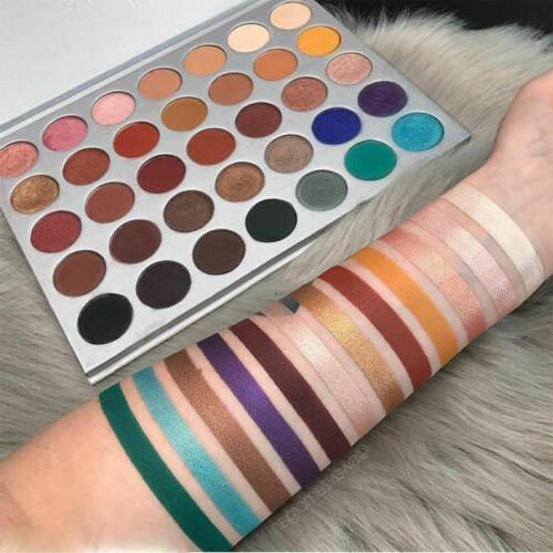 Beauty Glazed Palette Limited Edition Jaclyn Morphe Color shadow