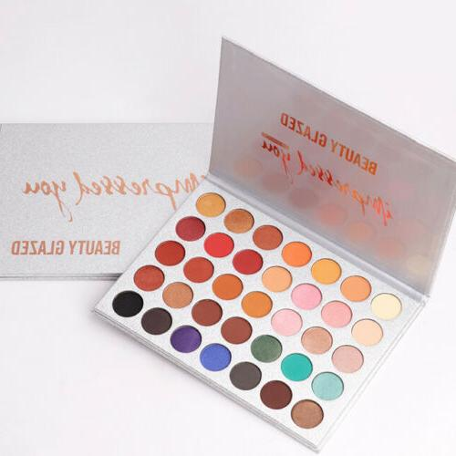 Beauty Glazed Palette Edition x Morphe 35 Color Eye shadow