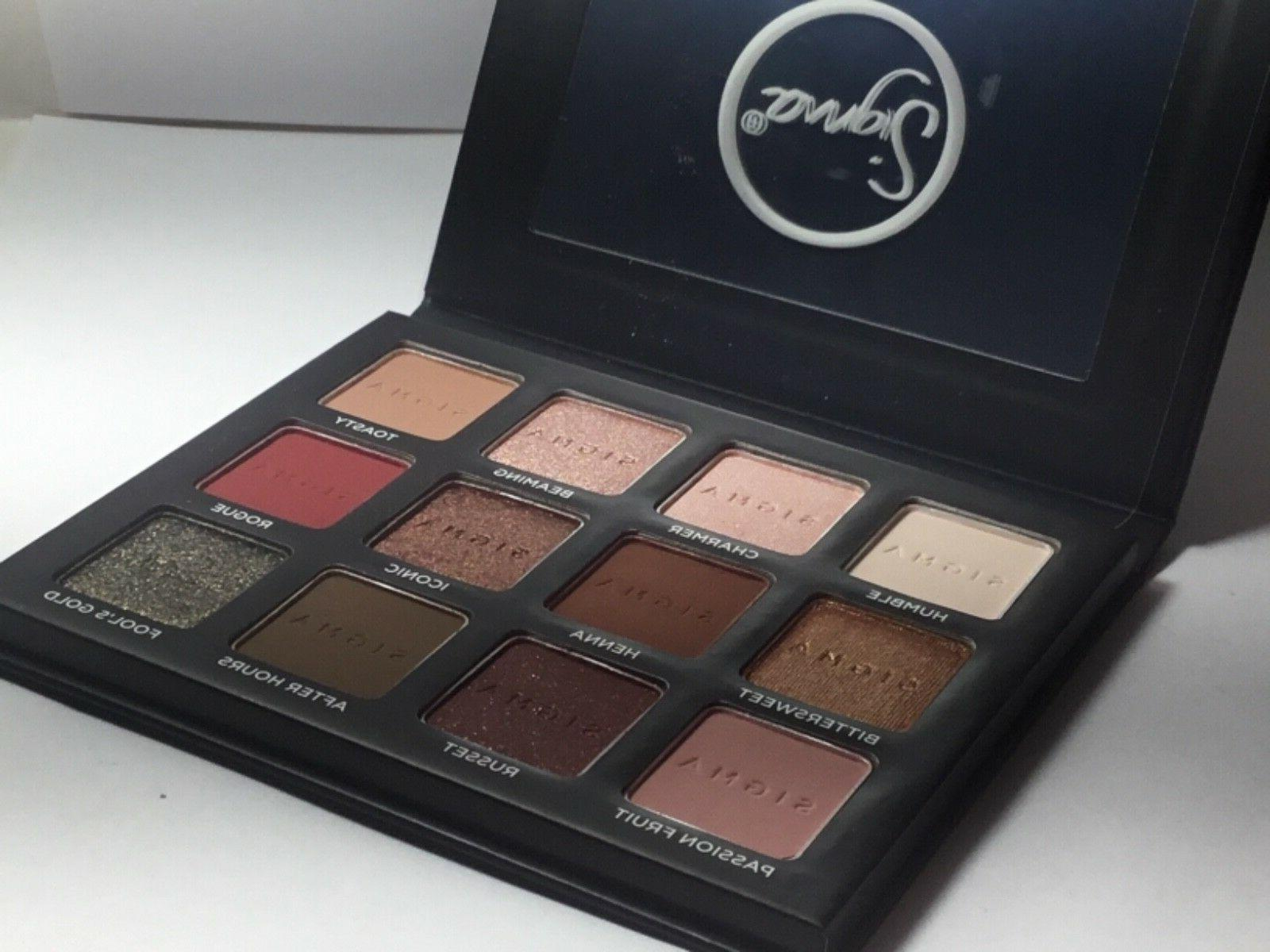 Sigma Beauty WARM Eyeshadow Palette 100% Authentic