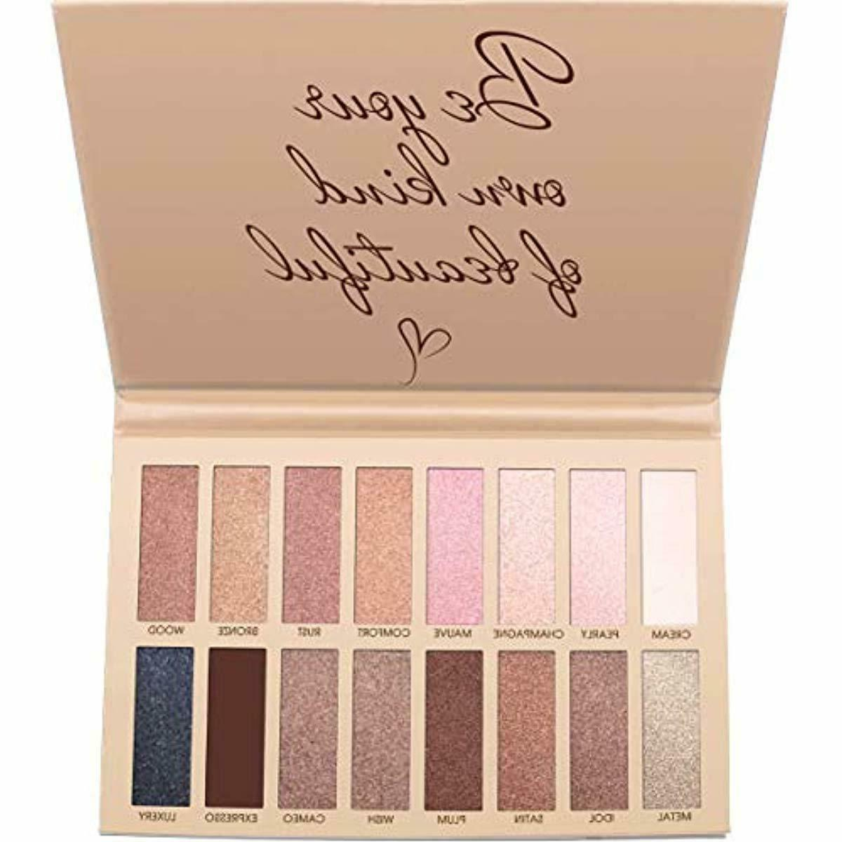 Best Pro Eyeshadow Palette Makeup - Matte Shimmer 16 Colors