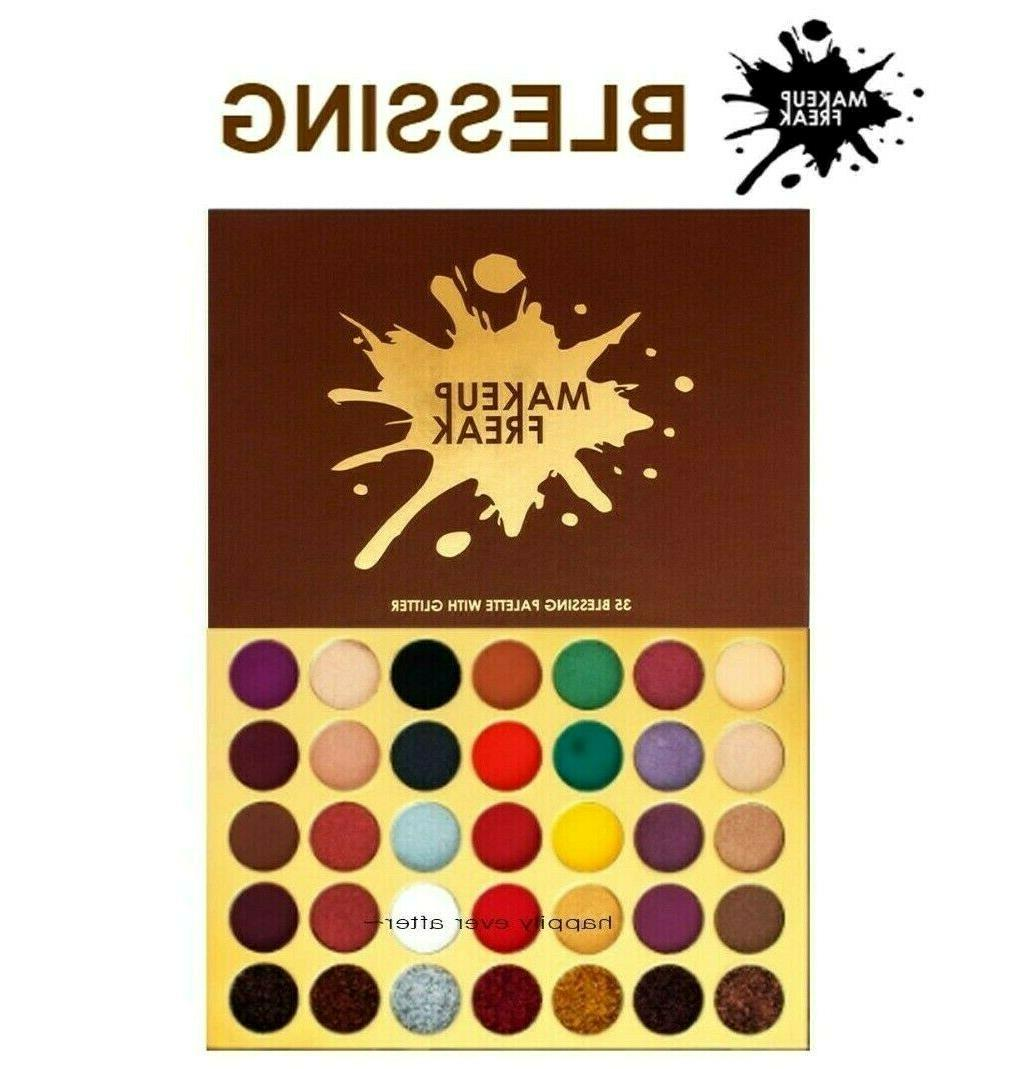 Makeup BLESSING Color Palette with Glitter *AUTHENTIC*