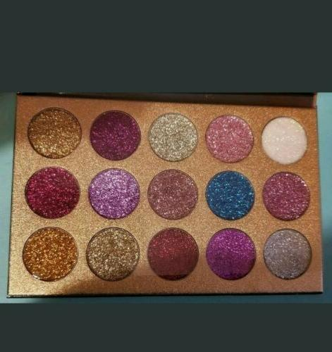 Brand Beauty Glazed 15 eye shadow palette