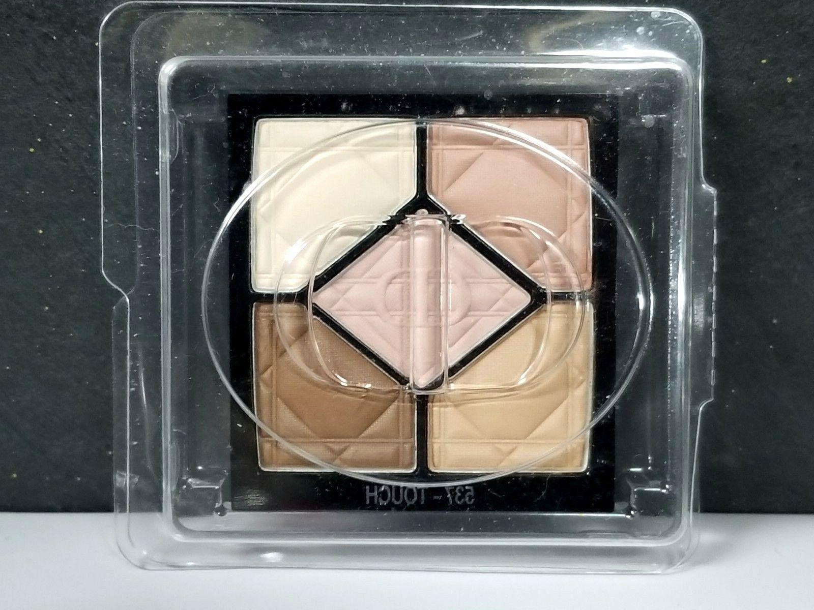 christian 5 color eyeshadow palette 537 touch