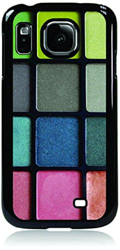 Colorful Eyeshadow Palette Hard Plastic BLACK Case for the S