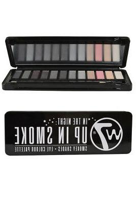 cosmetics eye colour palette in the night