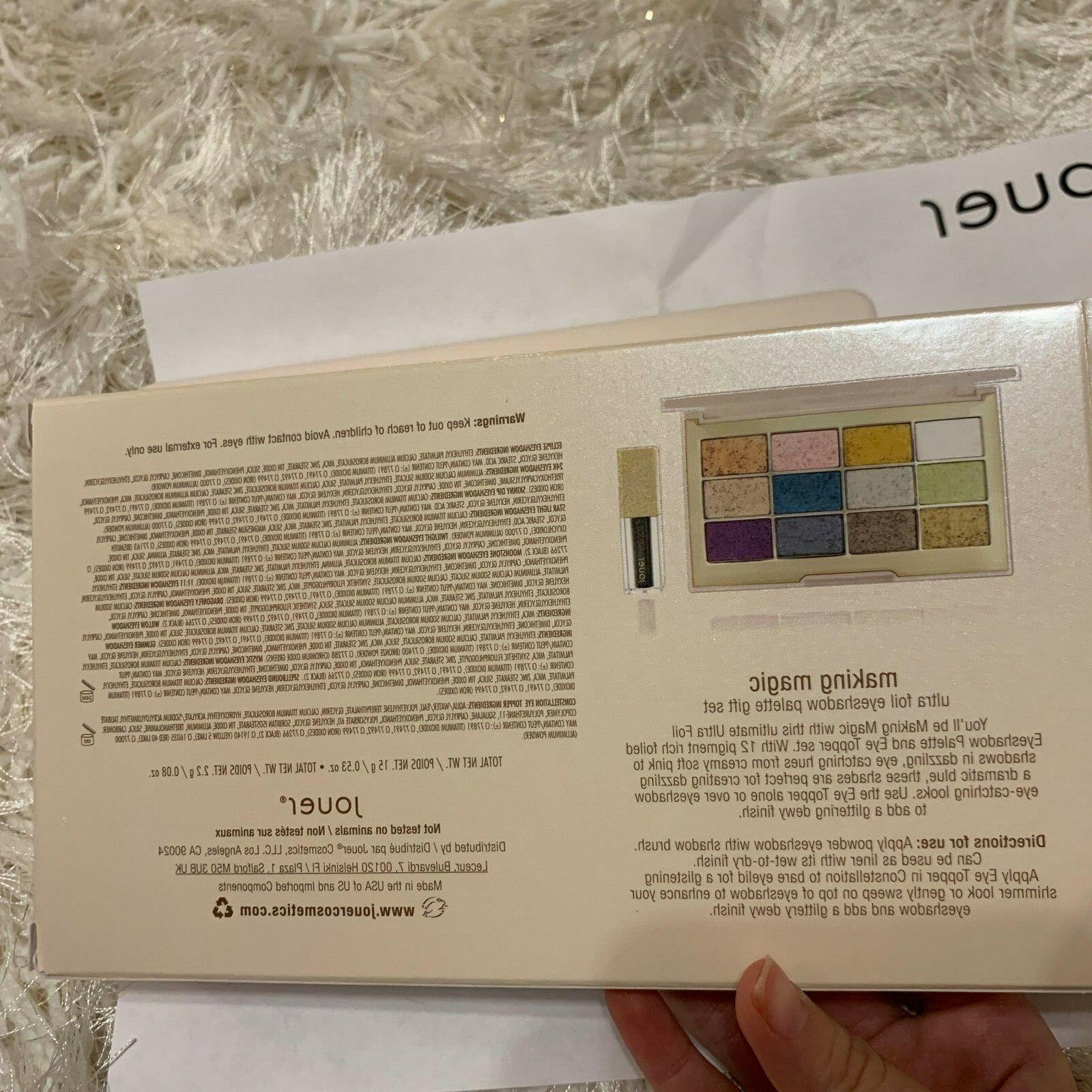 Jouer Making Ultra Foil Eyeshadow Holiday