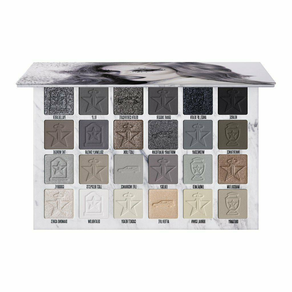 cremated collection eyeshadow palette in hand