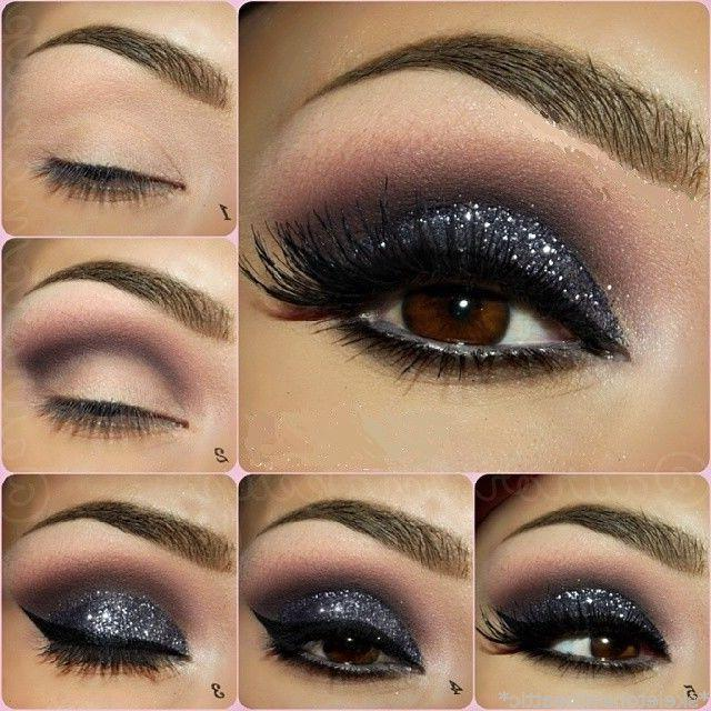 Diamond Palette Pigment Glitter Powder Makeup