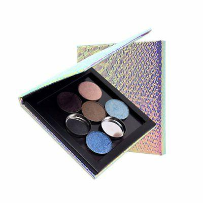Women Empty Magnetic Eyeshadow Makeup Palette Box Cosmetic T