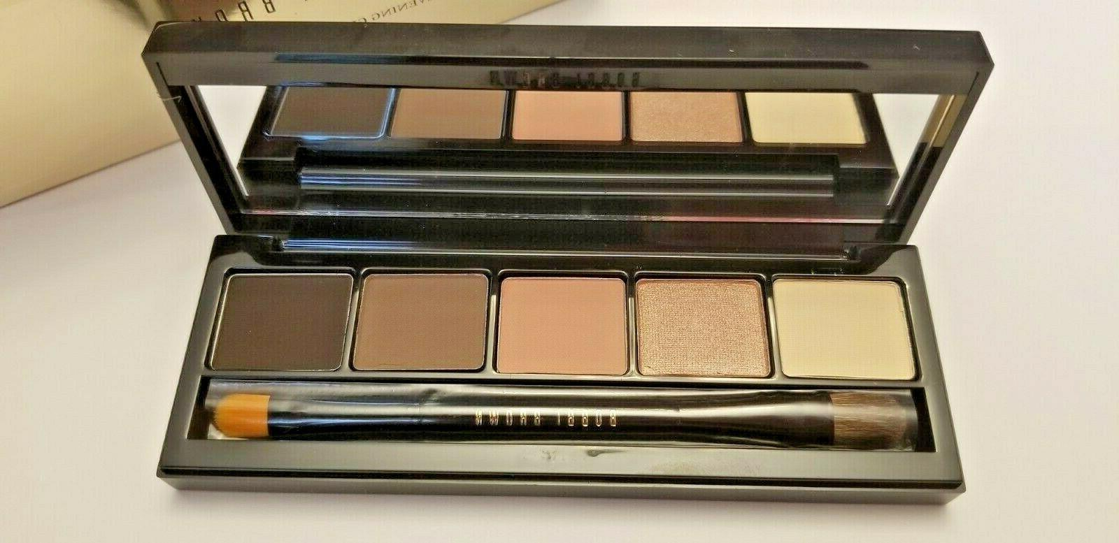 evening glow eyeshadow palette with brush limited
