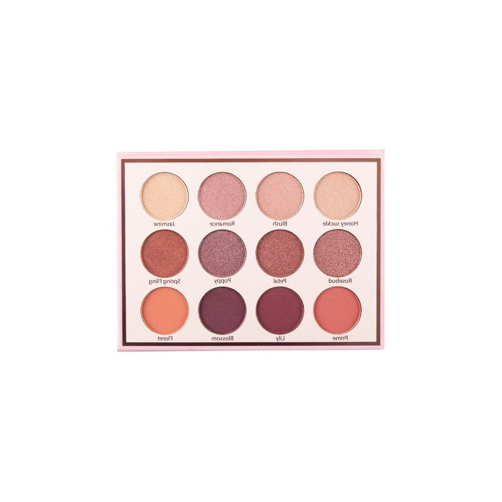 Beauty Creations Eyeshadow Palette Spring Matte Shimmer Glitter