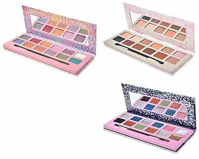 eyeshadow palette makeup 12 colors with mirror
