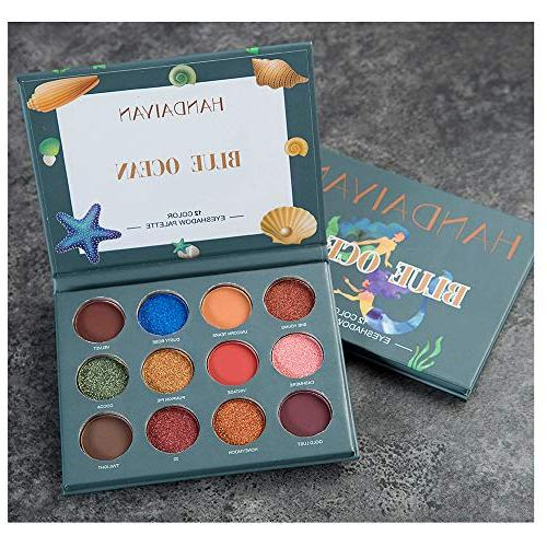Staron Pro Eyeshadow Palette Matte Shimmer 12 Pigmented Makeup Eye Colors Professional
