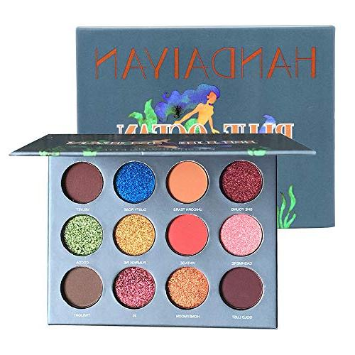 Staron Best Palette Shimmer 12 Highly Pigmented Eye Professional Makeup Pearl Eyeshadow