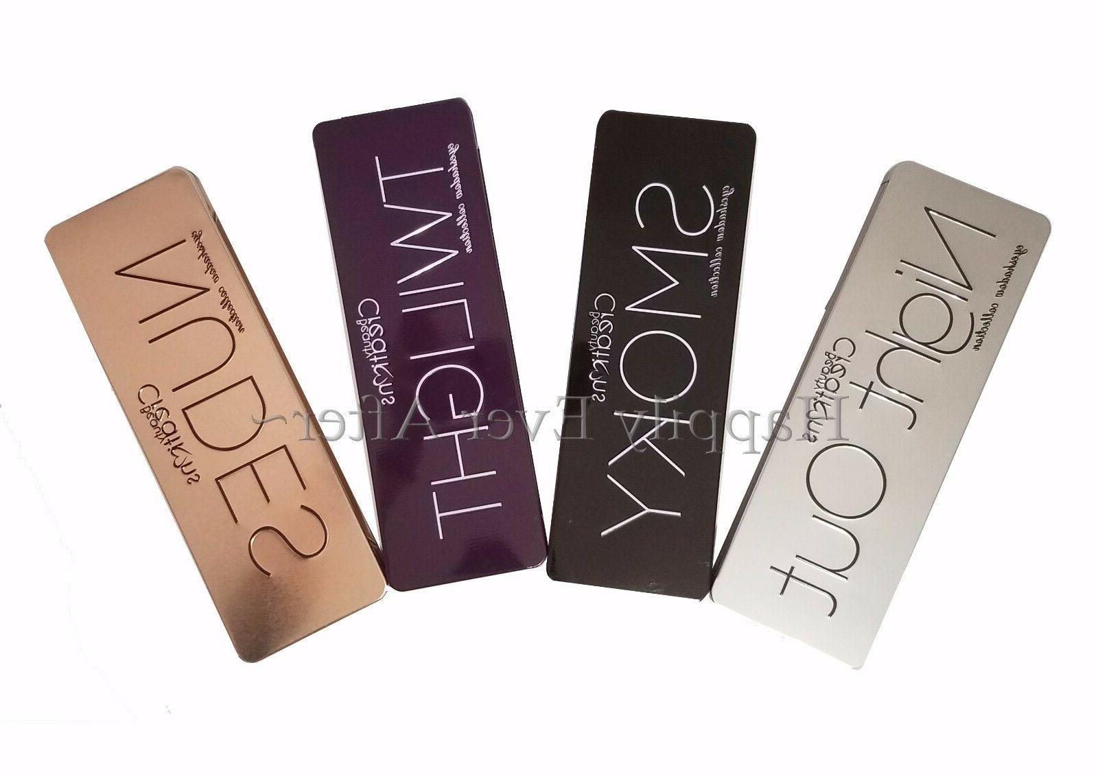Eyeshadow Palette- Beauty Creations Smokey, Nudes, Out, Twilight- w/ Brush