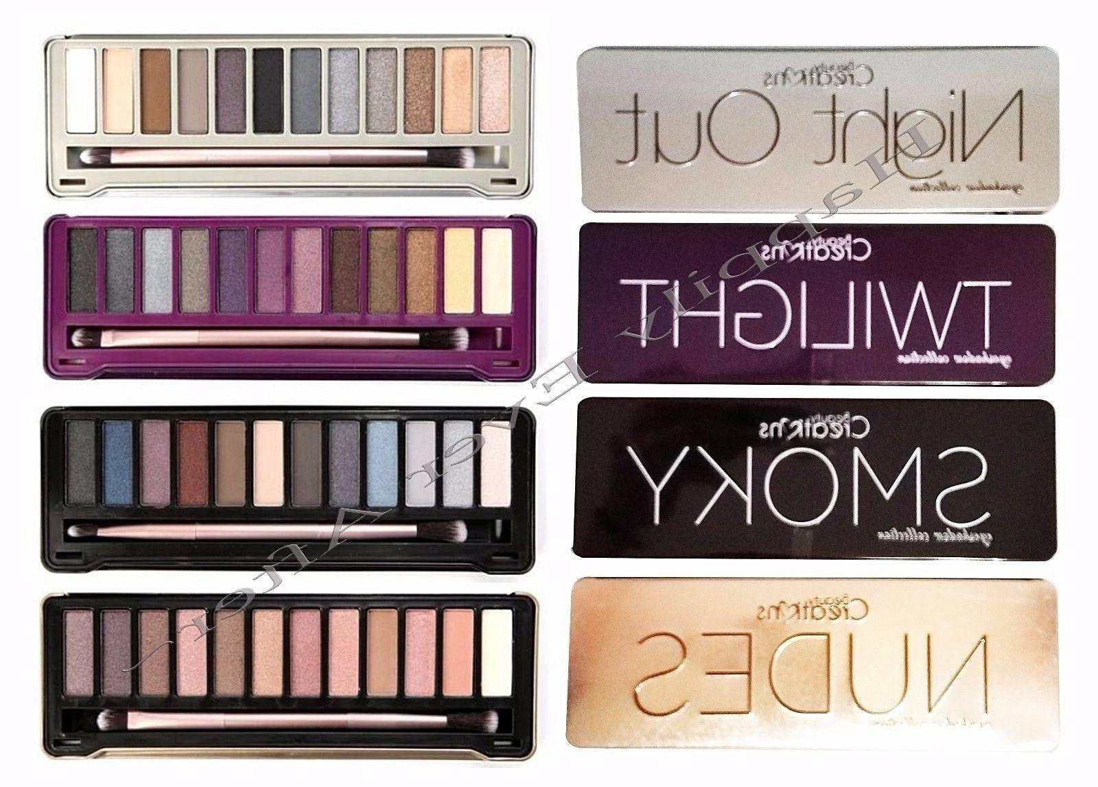 eyeshadow palette s smokey nudes night out