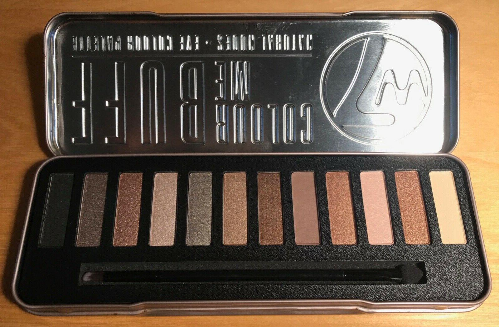 W7 Palettes Lightly and Me Buff
