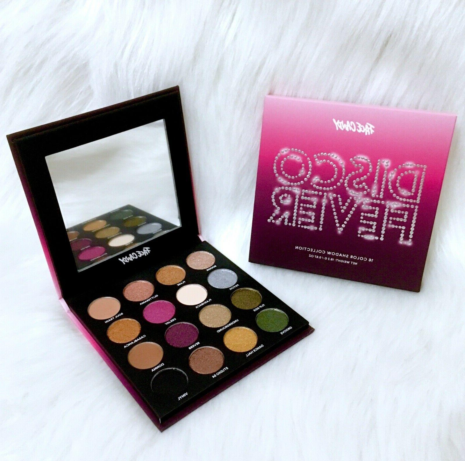 face candy disco fever eyeshadow palette 16