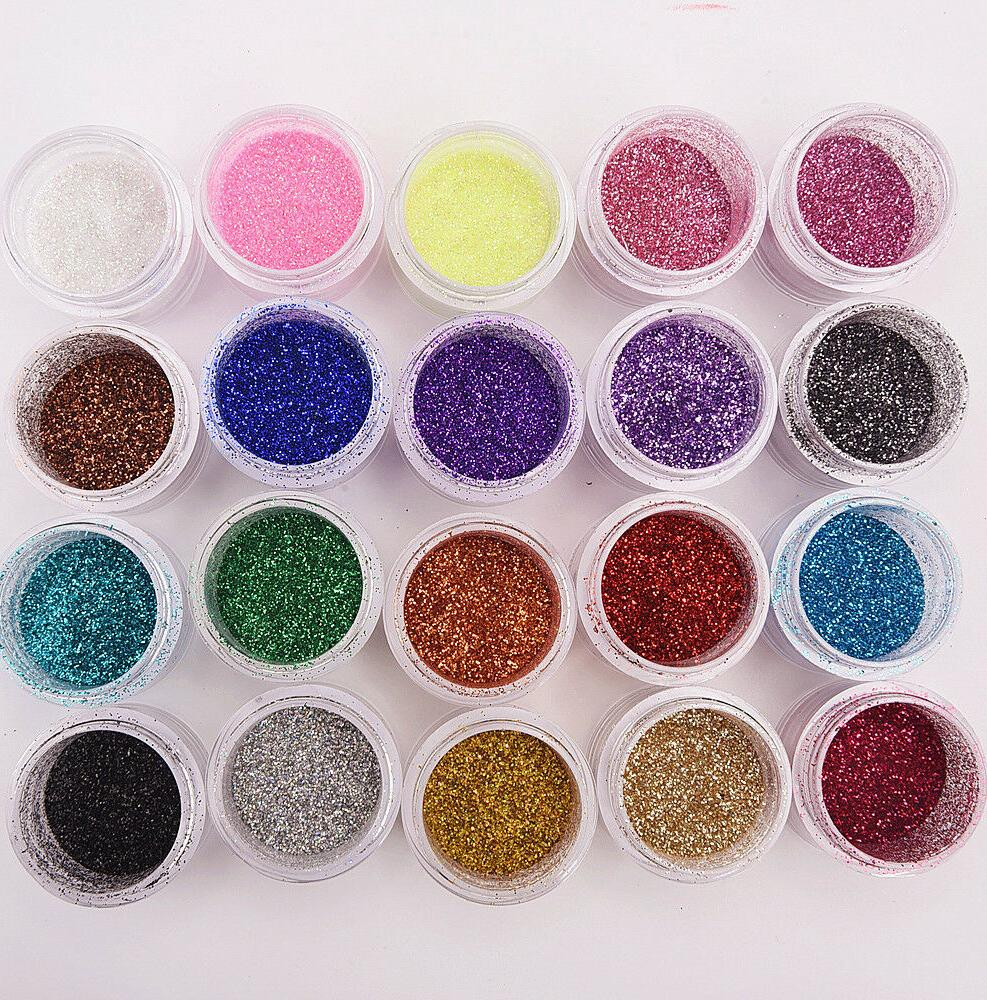 fashion shimmer glitter lip gloss powder palette