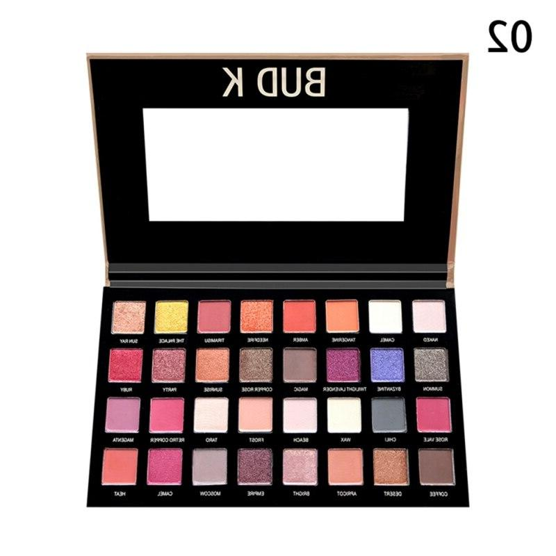 <font><b>32</b></font> Colors <font><b>Eyeshadow</b></font> Makeup Shimmer Eye Powder Beauty Cosmetics <font><b>palette</b></font> maquillage