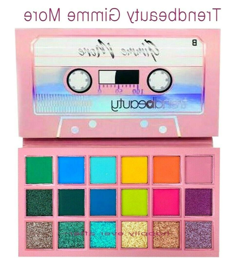 gimme more eyeshadow palette glitter and matte