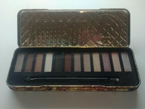 W7 GOLDIBOX .... And The 12 Shades -