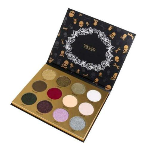 goth series 12 color eyeshadow palette matte