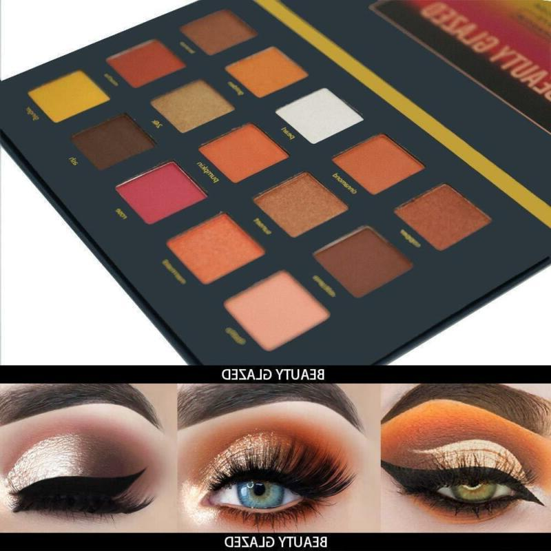 Beauty Highly Pigmented Eyeshadow Palette + 7P