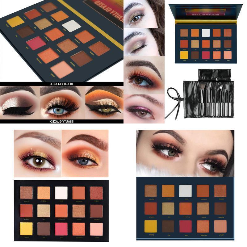 highly pigmented sunset dusk 15 colors eyeshadow