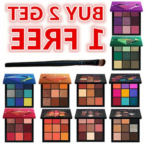 hu da 9 colors eyeshadow palette beauty