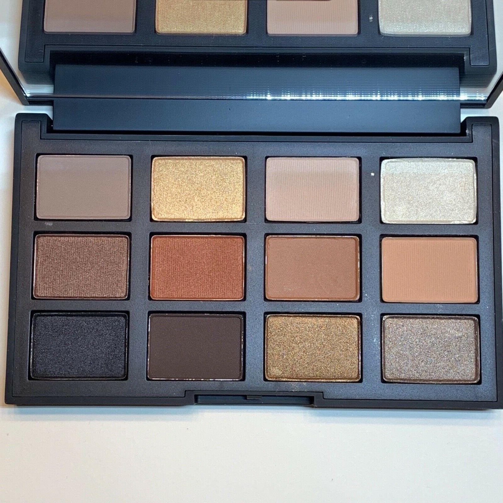 issist loaded eyeshadow palette nwob warm shimmer